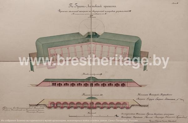 Форт IV крепость Брест-Литовск