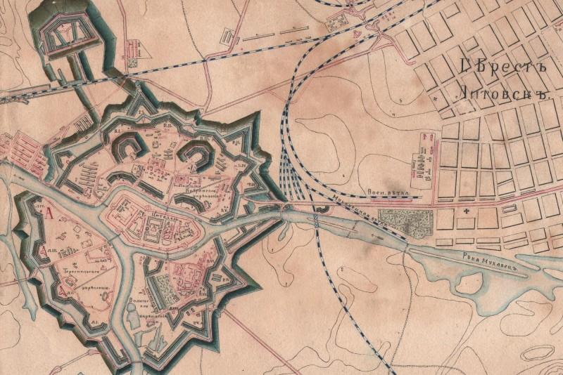 Карта крепости Брест-Литовск_мини-публикации